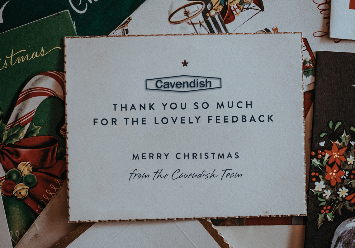 Merry Christmas from the Cavendish Team
